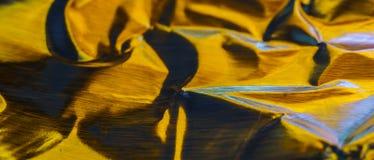 Aluminio abstracto del oro Foto de archivo libre de regalías