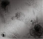 Aluminio aplicado con brocha mac apenado Imagen de archivo