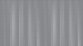 Aluminio del piso, pequeños agujeros del taladro de acero de tierra en grandes cantidades stock de ilustración
