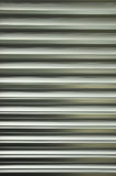 Aluminiowa żaluzja zdjęcie royalty free