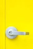 Aluminiowa drzwiowa gałeczka obrazy stock