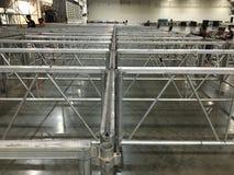 Aluminiowa struktura Obraz Stock