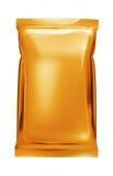 aluminiowa torby folii pomarańcze Zdjęcia Royalty Free