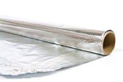 aluminiowej folii metalu tekstura Obrazy Royalty Free