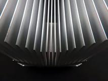 Aluminiowy heatsink Zdjęcie Stock