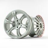 Aluminiowy koło wizerunek Obrazek obliczał aliażu obręcz dla samochodu Best używać dla Motorowego przedstawienia promoci Zdjęcie Stock