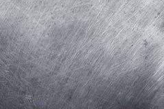Aluminiowy metal tekstury tło, narysy na stali nierdzewnej zdjęcie royalty free
