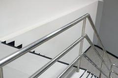 Aluminiowy poręcz Zdjęcie Royalty Free