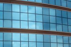 Aluminiowy szklany biuro fotografia stock