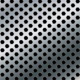 Aluminiowy tło Wektorowy metalu abstrakta tło Fotografia Royalty Free