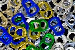 Aluminiowy tło Fotografia Royalty Free