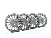 Aluminium Alloy rims, Car rims. Royalty Free Stock Photos