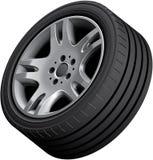 Aluminium alloy wheel Stock Photography