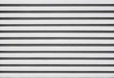 Aluminium żaluzi cynkowy wzór Fotografia Royalty Free
