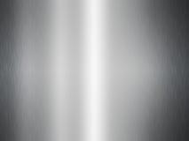 Aluminium błyszczący talerz Zdjęcia Royalty Free