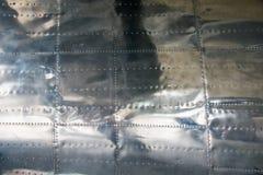Aluminium background Royalty Free Stock Images