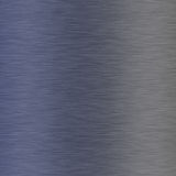 Aluminium balayé bleu Photo libre de droits