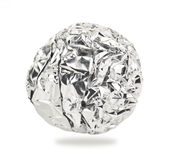 Aluminium ball Royalty Free Stock Image