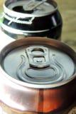 Aluminium Bank. Beer Royalty Free Stock Photography