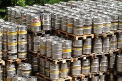 Aluminium barrels Stock Photography