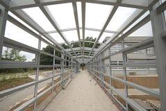 aluminium beams joint stål för konstruktion Arkivbild