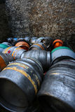 Aluminium Beer Cider Barrels Royalty Free Stock Images