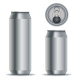 Aluminium beverage cans Royalty Free Stock Photo