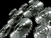 aluminium biegów Zdjęcia Stock