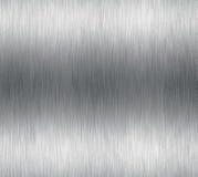 aluminium blank borstad metall royaltyfri illustrationer