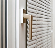 Aluminium blinds Stock Photo
