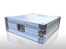 Aluminium box Royalty Free Stock Images