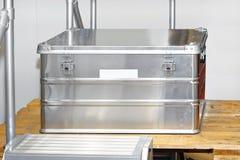 Aluminium box Stock Image