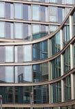 Aluminium building facade Royalty Free Stock Images