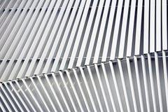 Aluminium byggnad för fasad Royaltyfri Fotografi