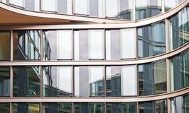 aluminium byggnadsfacade Royaltyfri Bild