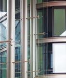 aluminium byggnadsfacade Arkivfoton