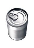 aluminium can Arkivbild