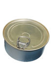 Aluminium Can. An aluminium can on white background stock image