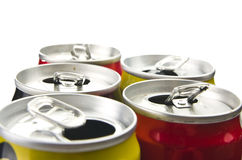 Aluminium can Stock Image