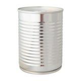 Aluminium can isolated white background Stock Image