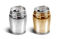 Aluminium can isolated Stock Photo
