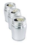 Aluminium cans Royalty Free Stock Image