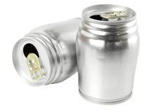 Aluminium cans Royalty Free Stock Photography