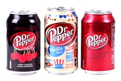 Dr Pepper royalty free stock photo