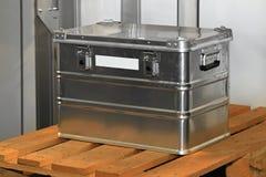 Aluminium case Stock Photography