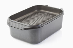 Aluminium cast frying pan Stock Photography