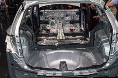 Aluminium chassis of car Royalty Free Stock Image
