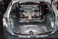Aluminium chassis of car Royalty Free Stock Image