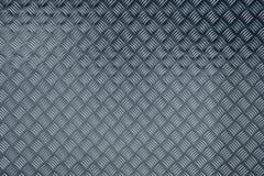 Aluminium checker plate stock image