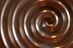 Aluminium circle. Nice aluminium circle mady by CNC Machine stock image